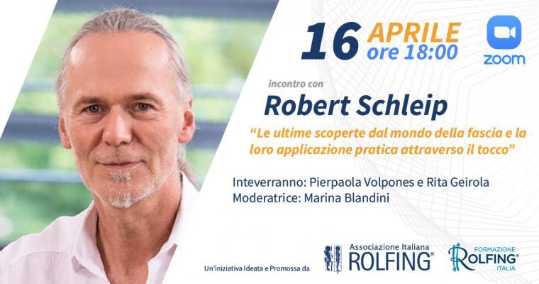 Webinar live con ROBERT SCHLEIP