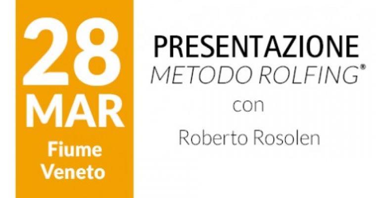 Presentazione del Metodo Rolfing - Fiume Veneto