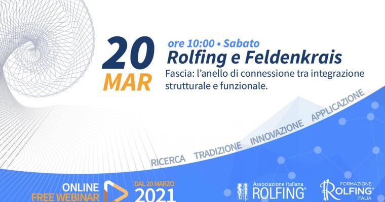 Live Facebook: Rolfing e Feldenkrais