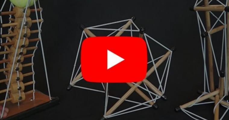 La tensegrita': un video per spiegarne il funzionamento.