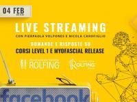 Diretta Facebook nuovi corsi Formazione Rolfing 2021