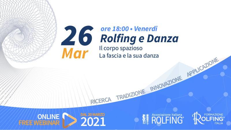 LIVE FACEBOOK: ROLFING E DANZA