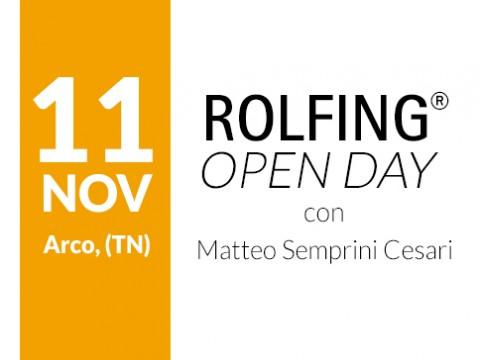 Open Day di Rolfing 11 Novembre