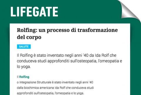 Rolfing®: un processo di trasformazione del corpo