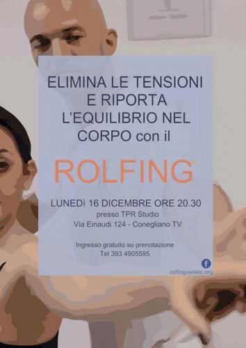 Serata di Presentazione del Metodo Rolfing - Conegliano