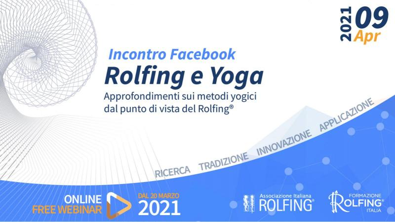 Rolfing e Yoga - Webinar