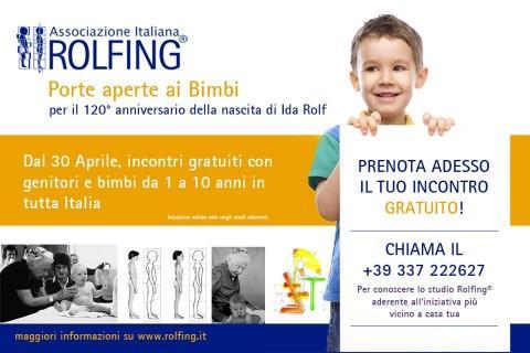 Maggio: il Rolfing S.I. incontra i bambini