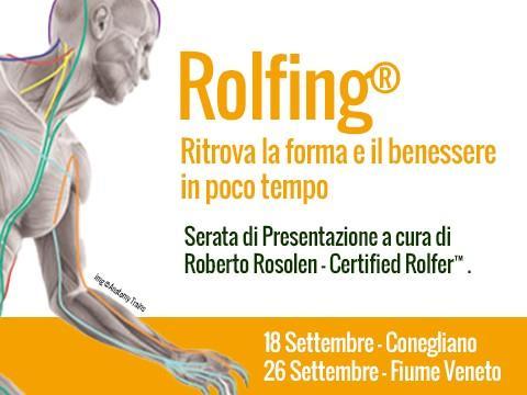 Rolfing®: ritrova la FORMA e il BENESSERE in poco tempo