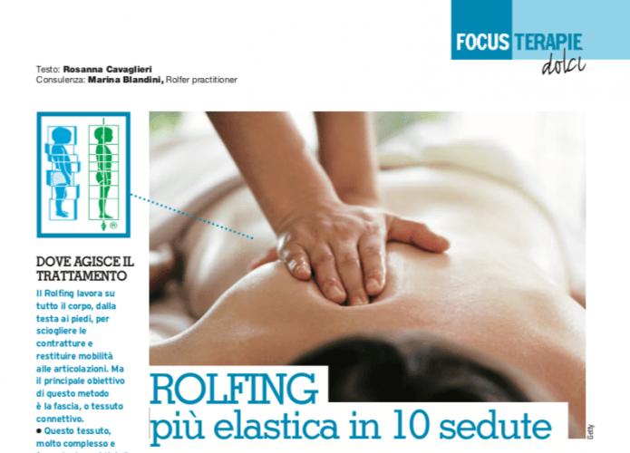 ROLFING, più elastica in 10 sedute